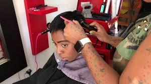 big chop pixie short hair cut w hair stylist bridgett harrison