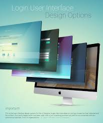 Login Login User Interface Design Options On Behance