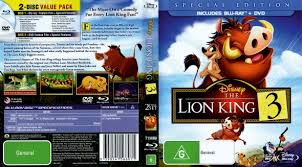 lion king 3 hakuna matata dvd covers u0026 labels covercity