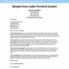 cover letter format cover letter format a cover letter block