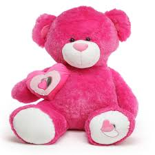 big teddy for s day ms chacha big hot pink teddy 60 in