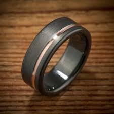 the jets wedding band mokume gane ring woodgrain metal ring unique wedding bands