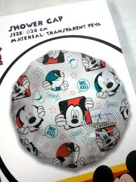 Minnie And Mickey Mouse Shower Curtain by Disney Mickey Mouse Shower Cap Hat For Children Bathroom
