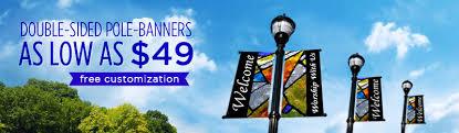 custom light pole banners church banners