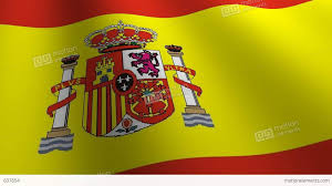 The Spain Flag Spain Flag Loop Flags Flags Nation Country Nations United Stock