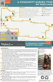 Portland Brewery Map by A Community Garden Tour Of Northeast Portland U2014 Bikabout
