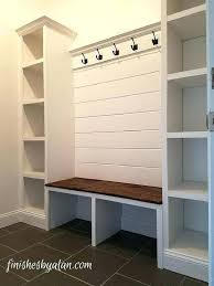 entry bench with storage mudroom storage bench with hooks mudroom
