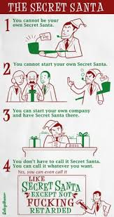 secret santa secret santa rules official rules images u0026 pictures