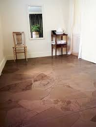 paper bag floor diy for low cost flooring yankee