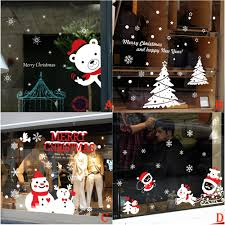 Merry Christmas Window Decorations by Christmas Christmas Online Get Cheap Window Decorations