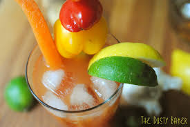 organic bloody mix bloody derby bourbon bloody the dusty baker