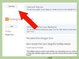 how to find free blogger templates 7 steps with pictures