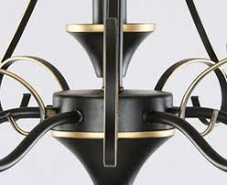 Chandelier With Black Shades Chandelier Gold Drum Shade Chandelier Black And Gold Drum Gold