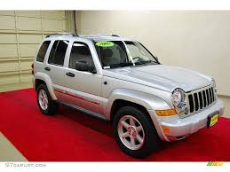 red jeep liberty 2007 2007 bright silver metallic jeep liberty limited 55188781