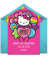 free kitty invitations punchbowl