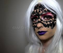 venetian carnival mask makeup tutorial collaboration with petra