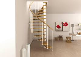 space saving spiral staircase type