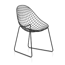 wire chair 3d