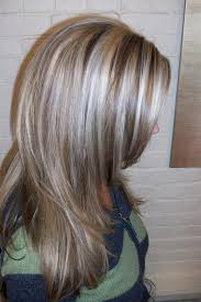 salt and pepper hair with brown lowlights wow i want to do this next time platinum highlights dark blonde