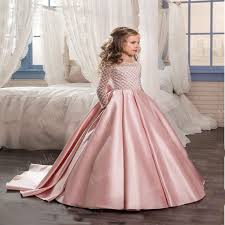 click to buy u003c u003c long sleeve flower girls dresses for weddings