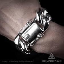 chain link bracelet silver images 30mm silver cuban bracelet jpg