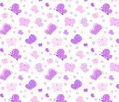 pink and purple butterfly meadow medium print fabric