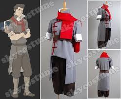 Korra Halloween Costume Avatar Legend Korra Mako Cosplay Costume Grey Version