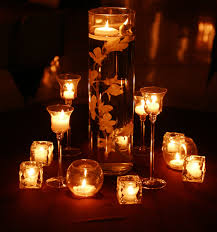 candle centerpiece the romanticism of wedding candle centerpieces cherry