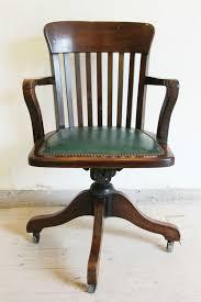 wooden rolling desk chair best 25 wooden office chair ideas on pinterest antique swivel