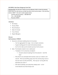 Sample Meeting Notes Template by 6 Minutes Of Meeting Format Outline Templates
