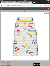 Grobag Zip Duvet Grobag Cot Unisex Nursery Bedding Sets Ebay