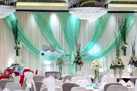 wedding backdrop curtains turquoise and white curtains top sale white wedding backdrop