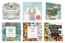 tons of cool coloring books for adults cool picks
