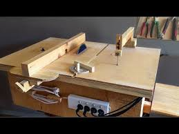 Table Jigsaw Homemade 4 In 1 Workshop Table Saw Router Table Disc Sander