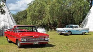 ranchero car grudge match chevy el camino vs ford ranchero
