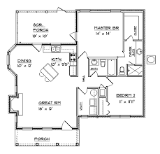level 1 1 2 bedroom house plans hwepl64976 living area 1 094 sq