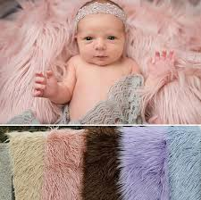baby props 150cm 1m newborn photography props blankets soft plush baby