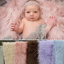 Newborn Photography Props 150cm 1m Newborn Photography Props Blankets Soft Plush Baby