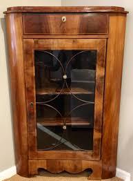 Mid Century Corner Cabinet Antique And Vintage Furniture U2014 Random Harvest