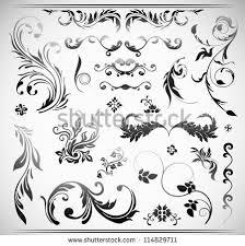 vector flower ornament free vector stock graphics