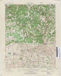 Mammoth Map Kentucky Historical Topographic Maps Perry Castañeda Map
