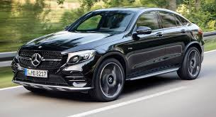 glc mercedes 2014 mercedes amg glc 43 4matic coupe spices things up with bi turbo v6