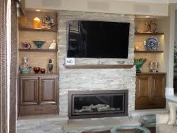 fireplace bookshelves binhminh decoration