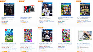 ps4 console amazon black friday 2017 amazon uk is offering up to 20 off games and consoles this week