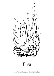 fire colouring