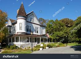 historic victorian homes heritage park old stock photo 18453049