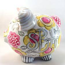 monogram piggy bank monogrammed piggy bank dakri sinclair