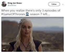 Hilarious Memes - fans react to fourth episode the spoils of war of game of