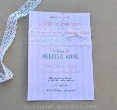 diy bridal shower invitations bridal shower invitations