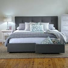 King Size Bed Frame With Storage Drawers Bed Frames Selv Me